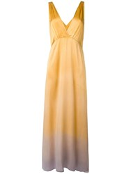 Raquel Allegra Kate Slip Dress Yellow
