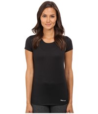 Marmot Aero Short Sleeve Black Women's T Shirt