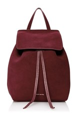 Mansur Gavriel Mini Backpack Burgundy