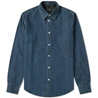 Rag And Bone Denim Shirt Blue