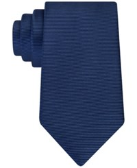Kenneth Cole Reaction Men's Classic Solid Tie Navy