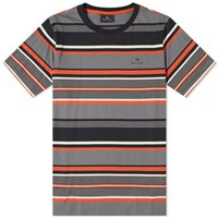 Paul Smith Multi Stripe Logo Tee Orange