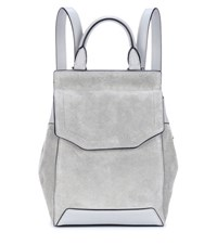 Rag And Bone Mini Pilot Suede Backpack Grey