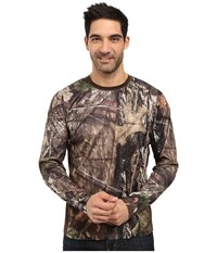 Columbia Stealth Shot Iii Zero Long Sleeve Shirt Mossy Oak Breakup Country Cordovan Men's Long Sleeve Pullover Gold