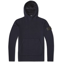 Stone Island Shadow Project Double Face Hooded Knit Navy