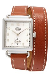 Shinola Women's Cass Leather Strap Watch 28Mm