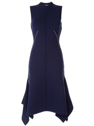Camilla And Marc Cope Asymmetric Style Dress Blue