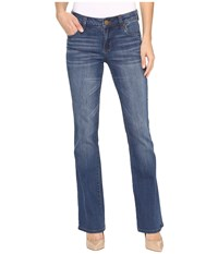 Kut From The Kloth Natalie High Rise Bootcut In Inclusion Inclusion Medium Base Wash Women's Jeans Blue