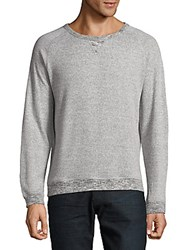 Hyden Yoo Melange Sweatshirt Light Grey