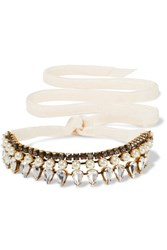 Erickson Beamon Born Again Gold Plated Ivory