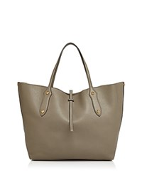 Annabel Ingall Isabella Small Leather Tote Putty Gold