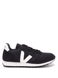 Veja Sdu Contrast Panel Trainers Navy