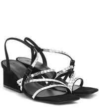 Mercedes Castillo Kelina Suede Sandals Black