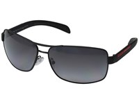 Prada Linea Rossa 0Ps 54Is Black Rubber Grey Polarized