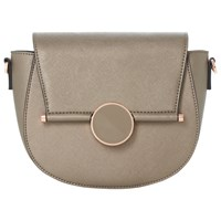 Dune Ebonnie Saddle Clutch Bag Grey