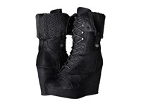 Sbicca Brisa Black Women's Lace Up Boots