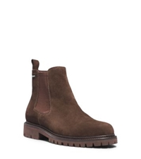 Michael Kors Hudson Suede Boot Chocolate