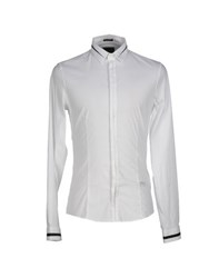 Guess Shirts Shirts Men White