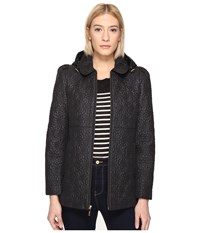 Kate Spade 27 Quilted Anorak Black