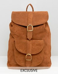 Reclaimed Vintage Backpack Neutral Tan