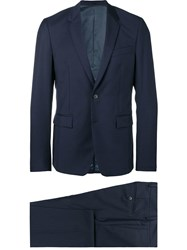 Mauro Grifoni Classic Two Piece Suit Blue
