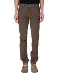 Carlo Chionna Casual Pants Dark Brown