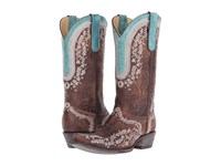 Old Gringo Bengala Brass Cowboy Boots Bronze