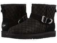 Ugg Marilu Double Diamond Black Women's Cold Weather Boots