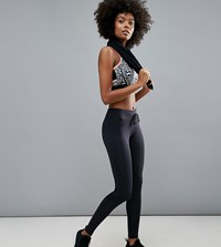 Elle Sport Sports Performance Mesh Insert Leggings Grey