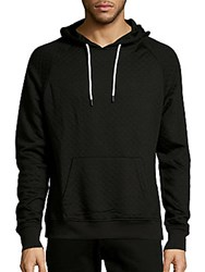 Sovereign Code Marino Solid Quilted Hoodie Black