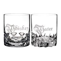 Waterford Whisky And Water Dof Tumbler Set Of 2