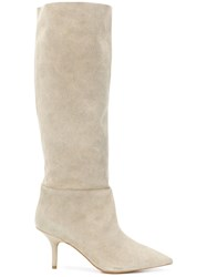Yeezy Knee High Boots Nude And Neutrals