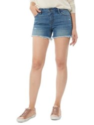 Sam Edelman The Lotus Denim Shorts Blue