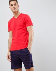 Hom Pyjama Set Red