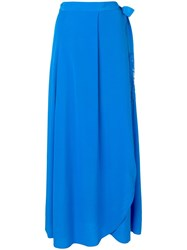 Forte Forte Side Tie Skirt Blue