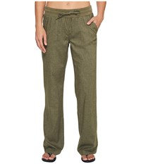 Prana Mantra Pant Cargo Green Women's Casual Pants