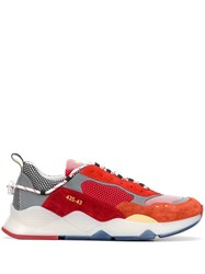 Brimarts Colour Blocked Sneakers Red