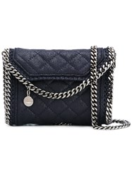 Stella Mccartney Quilted Falabella Cross Body Bag Women Artificial Leather One Size Blue