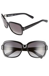 Women's Bobbi Brown 'The Evelyn' 63Mm Square Sunglasses Black
