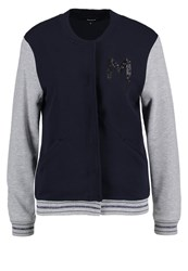 More And More Tracksuit Top Marine Grey
