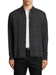 Allsaints New Romantic Long Sleeve Shirt Black
