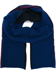 Paul Smith Knitted Scarf Blue