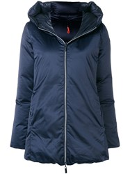 Rrd Hooded Feather Down Jacket Blue
