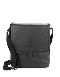 Cole Haan Pebbled Leather Crossbody Bag Black