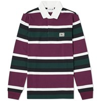 Lacoste Stripe Rugby Shirt Multi