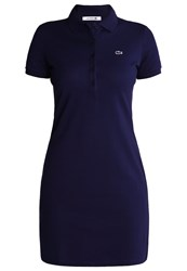 Lacoste Summer Dress Navy Blue Dark Blue