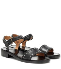 Church's Studded Leather Sandals Black