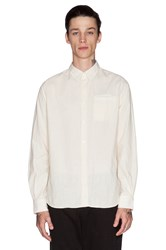 Norse Projects Anton Chambray Button Down Cream