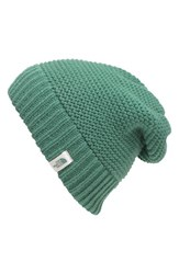 The North Face Women's 'Purrl' Knit Beanie Green