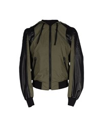 Yes London Coats And Jackets Jackets Men Military Green